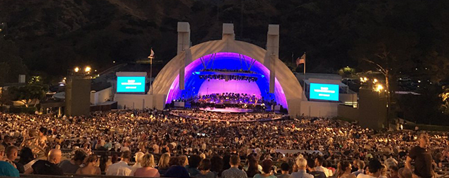 Hollywood Bowl Seating Chart – View the stage from all sections!