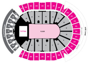 The Killers T-Mobile Arena Seating Chart Las Vegas