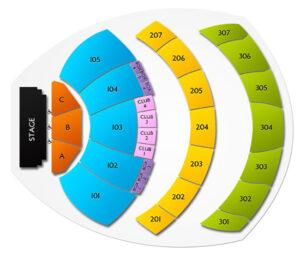 Youtube Theater Seating Chart Inglewood