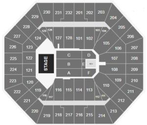 El Alfa Oakland Arena Seating Chart