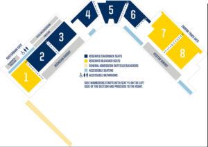Michigan Wolverines Alumni Field Seating Chart Softball