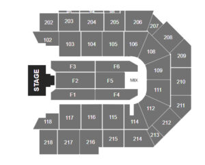 Nicky Jam Toyota Arena Seating Chart Ontario