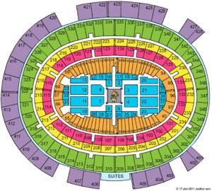 UFC 268 Seating Chart Madison Square Garden