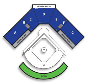 University of Kentucky Softball john cropp stadium seating chart