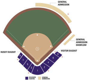 Washington Huskies Softball Seating Chart Huskey Softball Stadium