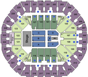 Grupo Firme Tickets Seating Chart Oakland Arena