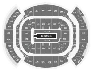 J Balvin FTX Arena seating chart miami