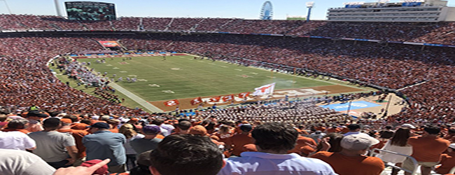 Cotton Bowl Stadium Dallas Texas