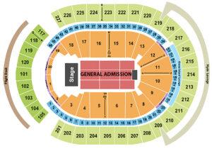 Dua Lipa T-Mobile Arena Seating Chart Las Vegas