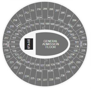 Dua Lipa The Forum Seating Chart Los Angeles