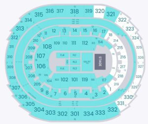 Kacey Musgraves Staples Center Seating Chart