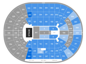 Kacey Musgraves United Center Seating Chart