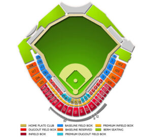 Chicago White Sox Camelback Ranch Stadium Seating Chart