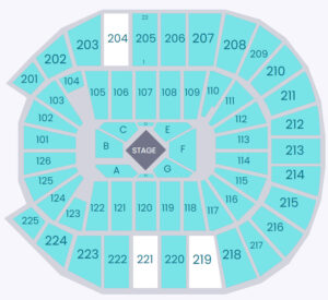 George Strait Simmons Bank Arena Seating Chart North Little Rock