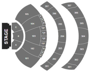 Jay Wheeler Youtube Theater Seating Chart Inglewood